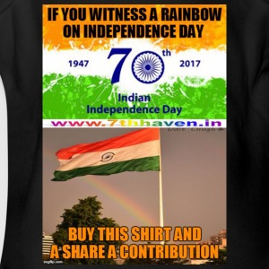 Independence day 70th Independ day India t shirt - Short Sleeve Baby Bodysuit