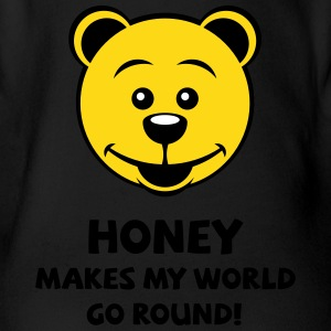 Honey Makes My World Go Round! (Honey Bear)