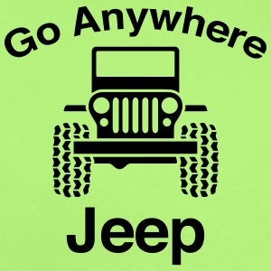 Jeep Go Anywhere - Short Sleeve Baby Bodysuit