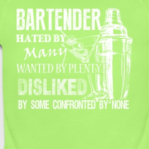 Awesome Bartender Tee Shirt - Short Sleeve Baby Bodysuit