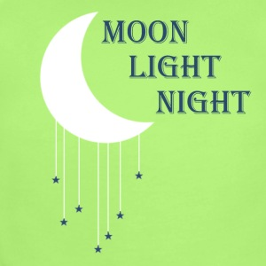 Moon Light Night Tee - Short Sleeve Baby Bodysuit