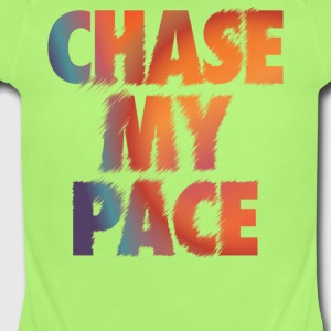 Chase My Pace - Short Sleeve Baby Bodysuit