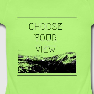 Choose Your View - Short Sleeve Baby Bodysuit
