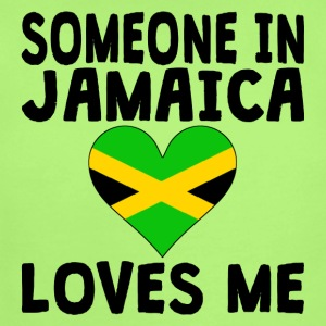 Someone In Jamaica Loves Me - Short Sleeve Baby Bodysuit