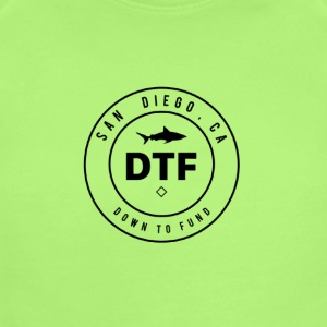 DTF, or DOWN TO FUND - Short Sleeve Baby Bodysuit