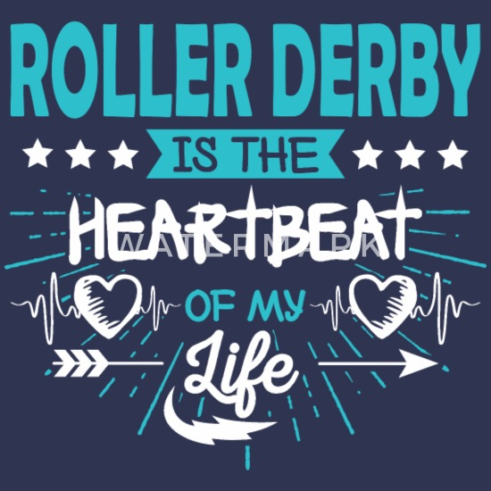 Heart Roller Skating Skater Derby Quotes Gifts Fun Organic ...