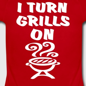 I Turn Grills On - Short Sleeve Baby Bodysuit