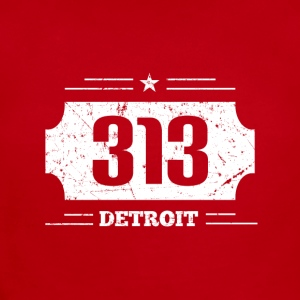 Detroit 313 Area Code - Short Sleeve Baby Bodysuit