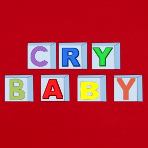 Cry Baby Blocks - Short Sleeve Baby Bodysuit