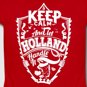 HOLLAND KEEP CALM TEE SHIRT - Short Sleeve Baby Bodysuit