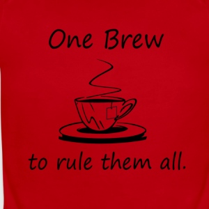 On Brew To Rule them All - Tea - Short Sleeve Baby Bodysuit