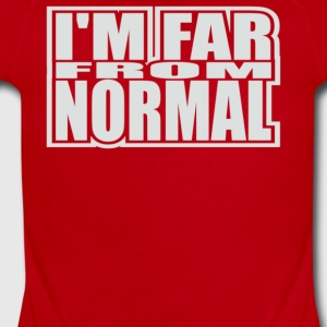 Far From Normal - Short Sleeve Baby Bodysuit