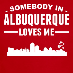 Somebody In Albuquerque Loves Me - Short Sleeve Baby Bodysuit