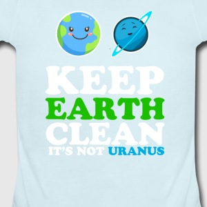 Earth day funny - Short Sleeve Baby Bodysuit