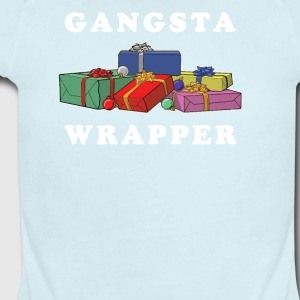 Gangsta Wrapper - Short Sleeve Baby Bodysuit