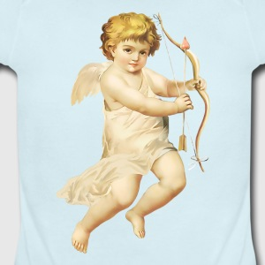 Cupid_Angel_PNG_Picture - Short Sleeve Baby Bodysuit