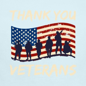 Thank You Veterans - Short Sleeve Baby Bodysuit