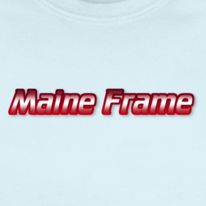 Maine Frame - Short Sleeve Baby Bodysuit