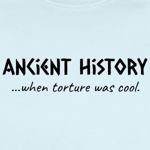 Ancient History When Torture Was Cool - Short Sleeve Baby Bodysuit