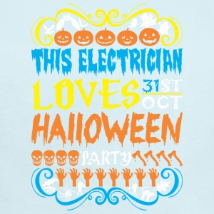 This Electrician Loves 31st Oct Halloween Party - Short Sleeve Baby Bodysuit