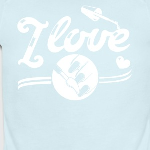 I Love Nail Shirt - Short Sleeve Baby Bodysuit