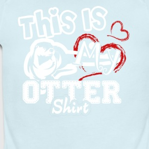 This Is My Otter Shirt - Short Sleeve Baby Bodysuit