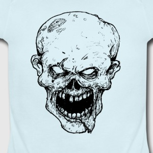 Zombie - Short Sleeve Baby Bodysuit