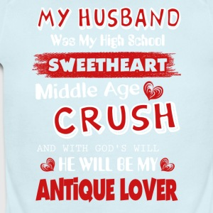 My Husband Was My High School Sweetheart - Short Sleeve Baby Bodysuit