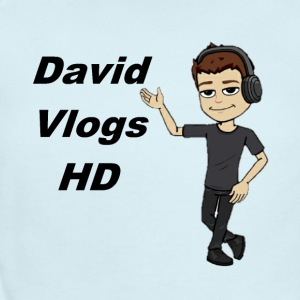 davidvlogshd animation shirt! - Short Sleeve Baby Bodysuit