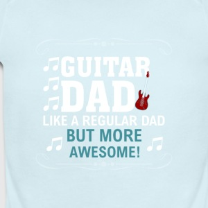 Guitar Dad - Short Sleeve Baby Bodysuit