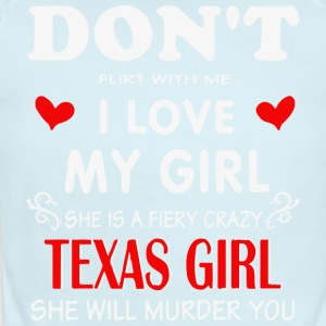 Texas girlfrien - Short Sleeve Baby Bodysuit