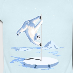 North Pole Dancer - Short Sleeve Baby Bodysuit