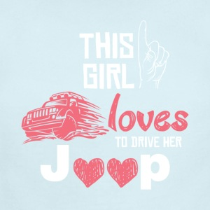 Jeep love - Short Sleeve Baby Bodysuit