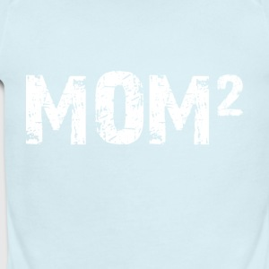 Mom 2 Tshirts - Short Sleeve Baby Bodysuit