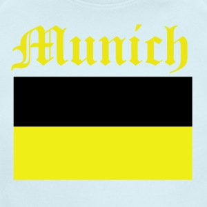 munich design - Short Sleeve Baby Bodysuit