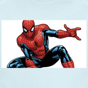 spider man - Short Sleeve Baby Bodysuit