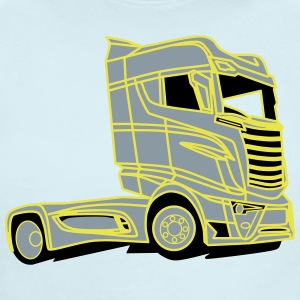Scania R1000 V8 Super Truck - Short Sleeve Baby Bodysuit