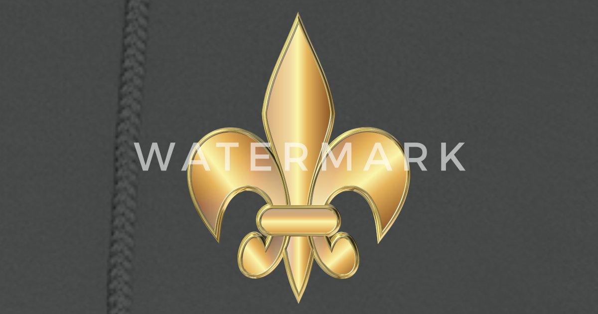 Golden Fleur De Lis Symbol By Igorsin Spreadshirt
