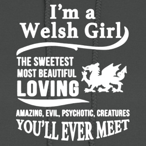 I'M A WELSH GIRL SHIRT - Women's Hoodie
