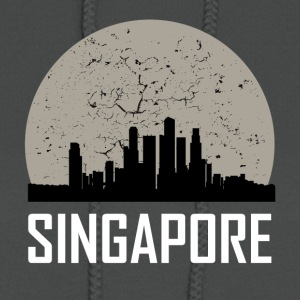 Singapore Full Moon Skyline - Women's Hoodie