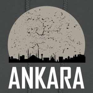Ankara Full Moon Skyline - Women's Hoodie