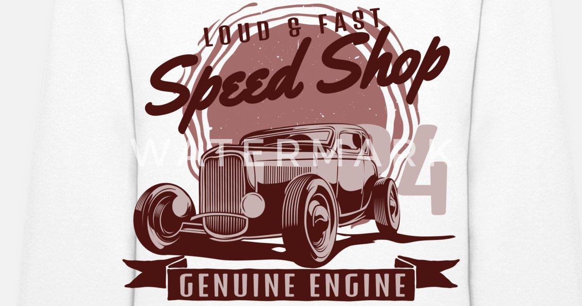 Loud and Fast Genuine Engine Women's Hoodie | Spreadshirt