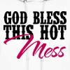 Country Thang-God Bless This Hot Mess - Women's Hoodie