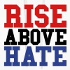 Rise Above Hate - Women's Hoodie