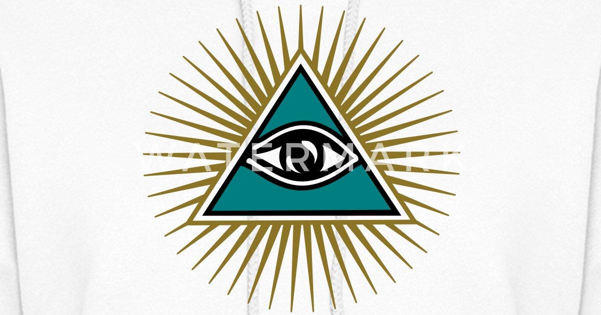 All Seeing Eye Triangle God Symbol Omniscience By Yuma Spreadshirt