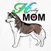 Love Mom Husky Alaskan Alaska Dog T-shirt - Women's Hoodie