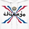 Assyrian Chicago Pride Flag Nationality Shirt Tees - Women's Hoodie