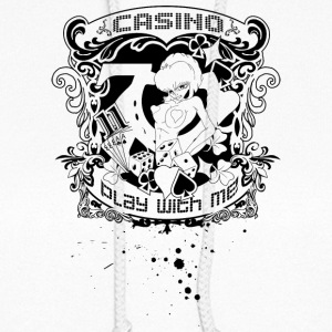 casino_play_with_me_black - Women's Hoodie