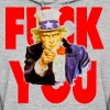 Uncle Sam Says Fuck You - Women's Hoodie