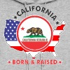 CALIFORNIA Born & Raised - Women's Hoodie